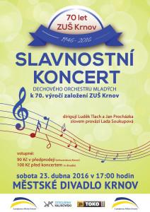 Jarní koncert DOM 2016_plakát